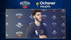 Pelicans Practice: Lonzo Ball interview ...