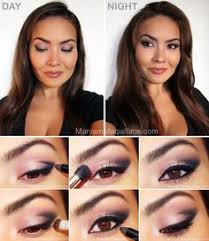 a glossy challenge day to night makeup makeup