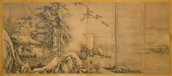 the four accomplishments kano motonobu work of the four accomplishments