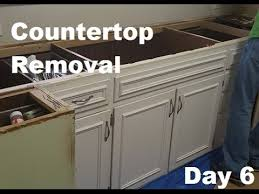 watch how to remove kitchen countertops awesome countertop paint