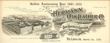 hermann oak leather partners with the tcaa