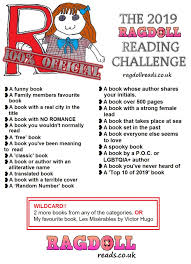 100 Book Challenge Chart 2019 Reading Challenge Ragdoll Reads