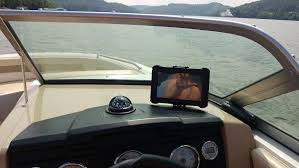 Cheap Chart Plotters Tablet Front View Poor Mans Chartplotter Not All That
