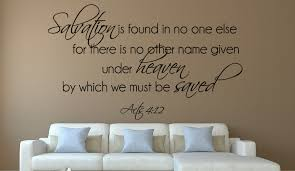 Christian Salvation Quotes Best of Acts 2424 Salvation Is FoundChristian Wall Decal Quotes