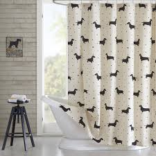 com hipstyle hps70 0004 olivia cotton printed shower curtain 72x72 natural 72x72 home kitchen