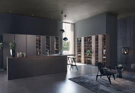 Modern kitchens Island Steel Lushome Modern Style u203a Kitchen u203a Kitchen Leicht Modern Kitchen Design