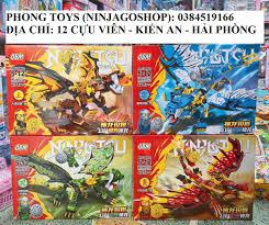 SIÊU RẺ] [Ảnh thật] Lắp ráp xếp hình LEGO NINJAGO SEASON 13 OBM 99727 : Set  4 bộ Ninja cưỡi rồng thần, Giá siêu rẻ 390,000đ! Mua liền tay! - SaleZone  Store