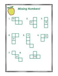 Hundreds Chart Pieces Missing Numbers Pack