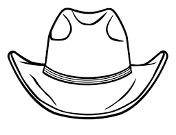 Small Picture How to Draw Cowboy Hat Colouring Page Colouring Tube