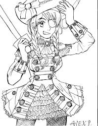 Printable Coloring Pages pirate coloring pages free : Luxury Girl Pirate Coloring Pages 54 In Free Coloring Kids with ...