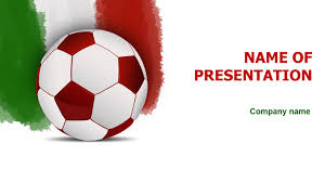 Italian Soccer Ball Powerpoint Theme This Beautiful And Creative