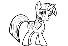 My Little Pony Coloring Pages Pdf At Getdrawingscom Free For