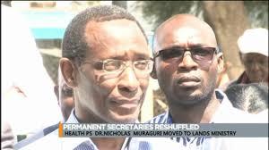 Kenyan Cabinet Secretaries Reshuffling Of Cabinet Secretaries Youtube