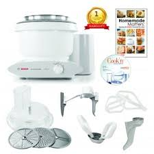 bosch universal plus kitchen machine with bakers pack and new style slicer shredder on now 659 99 reg 749 99 include free dough hook extender the