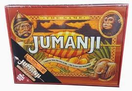 Real Wooden Jumanji Board Game Beauteous Cardinal Games Jumanji Board Game In Wooden Case Walmart Exclusive
