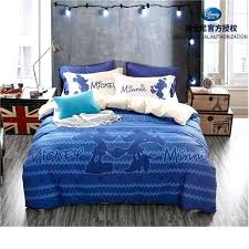 childrens bedroom decor mickey mouse and royal blue bedding sets girls bedroom decor cotton duvet cover