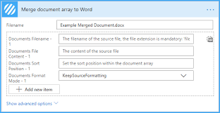 The addendum will establish a new lease. Solved Trying To Conditionally Build A Word Document Power Platform Community