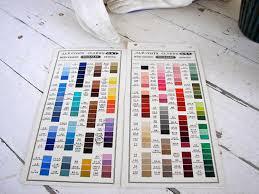 Coats And Clark Thread Chart Coats And Clark Thread Color Chart Choice Image Chart