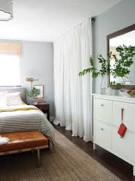 15 cute closet door options interior design house a simple white curtain hung high and wide adds to the pared down natural look of this