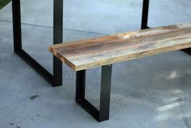 Live Edge Tables  Lorimer WorkshopSteel Legs For Benches