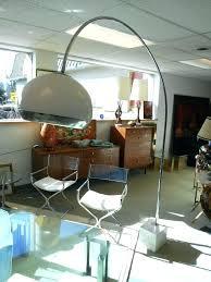 mid century arc floor lamp mid