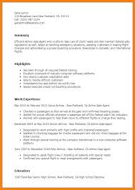 10+ Airline Ticketing Agent Resume Samples | Richard Wood Sop