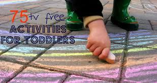 outdoor activities for preschoolers. 75 TV Free Activities For Toddlers Outdoor Preschoolers