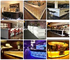 Latest Bar Designs Photos White Glossy Bar Counter Designs Led Cocktail Table Designs Buy Led Cocktail Table Designs White Glossy Bar Counter Led Cocktail Table Designs