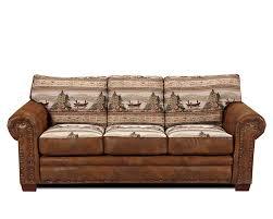 Tapestry Sofa Living Room Furniture Amazoncom American Furniture Classics Sierra Lodge Sofa Kitchen