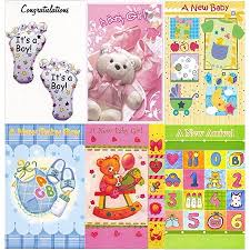 Assorted New Baby Congratulations Greeting Cards In A Bulk 12 Pack