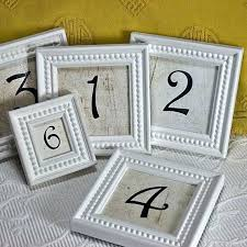 white inch framed table numbers for by small picture frames square small white picture frames