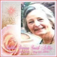 Bobbie Dianna Smith Acklen (1945-2006) - Find A Grave Memorial