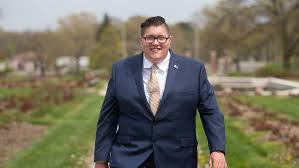 William Hendrix, 20, is one of Topeka City Council's youngest ...