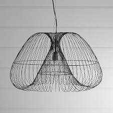 crate and barrel exclusive cosmo pendant light