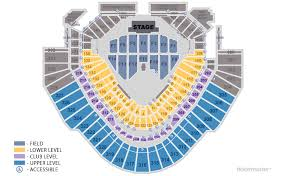 Chase Field Seating Chart For Billy Joel Concert Field