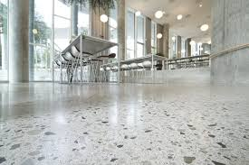 polished concrete has the ability to transform existing concrete slabs into visually appealing surfaces that are both durable and easily cleaned
