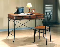 computer desk and chair set decoration desk and chairs with wood and metal desk chair set