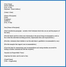Letters Of Recommendation Personal 53 New Ideas Of Personal Letter Of Recommendation Template