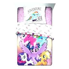 new my little pony bedding set queen king size cotton rare in home garden other comforter