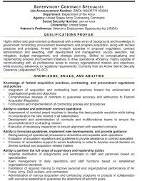 Federal Resume Format Template Resume Template Ideas