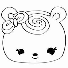 Enjoyable Squishy Coloring Pages 20 Free Printable Num Noms Page