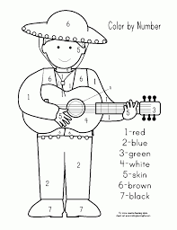 This day is often confused with the mexican independence day in many parts of the us which is observed on 16 september. Get This Kids Printable Cinco De Mayo Coloring Pages Holiday 12762