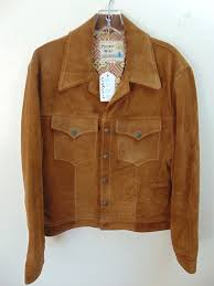 cs18 1960 70 s vintage pioneer wear albuquerque 40 mid weight suede leather jacket chest 42 inches 100