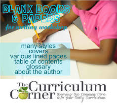 blank books papers for writing workshop the curriculum corner  use these blank books for your writing workshop includes an assortment of books and lined papers for the classroom
