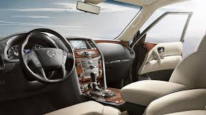 2018 nissan interior. interesting interior 2018 nissan armada interior highlighting leather wrapped steering wheel in nissan interior