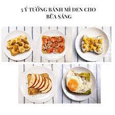 5 ý tưởng bánh mì đen cho bữa sáng - Lily Lai Corner