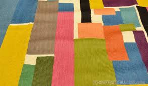 color swatch rugs abstract wall hangings hand embroidered accent rug modern tapestry colorful blue green pink purple contemporary carpet decorative wall art