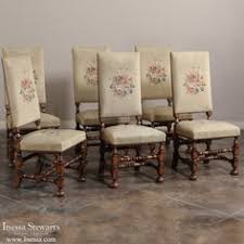 antique dining room chairs. Contemporary Antique Antique Dining Room Furniture  Chairs Set Of 6  Needlepoint Www To
