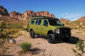Sportsmobile Turns Ford E-Series into a Rugged Camping Rig