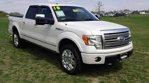 Used truck for Sale Ford F150 Platinum 4WD Crew Cab - YouTube